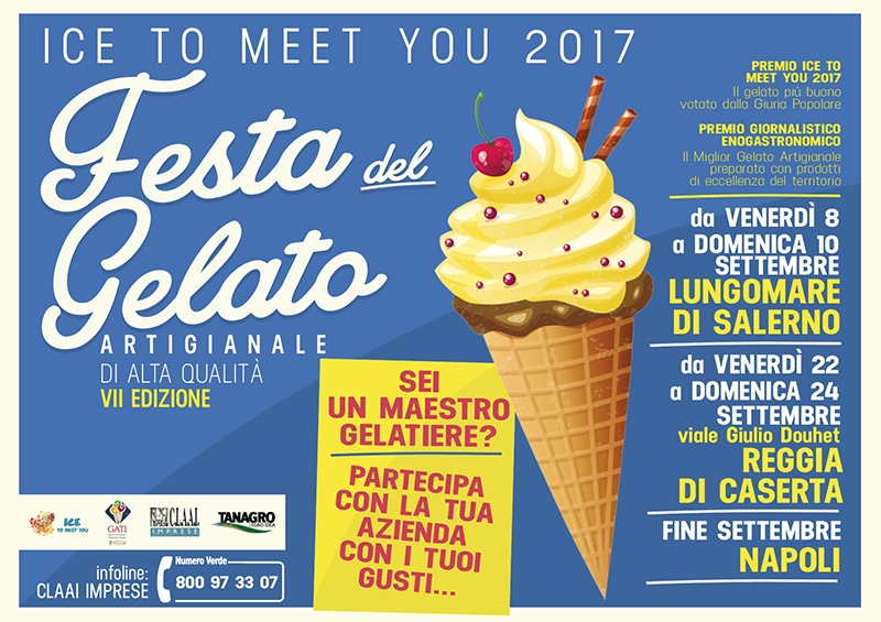 La 7a edizione di Ice To Meet You